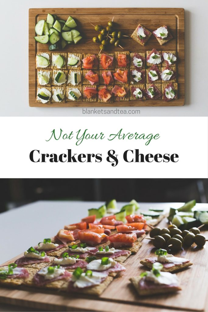 Not Your Average Crackers & Cheese