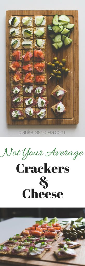 Not Your Average Crackers and Cheese