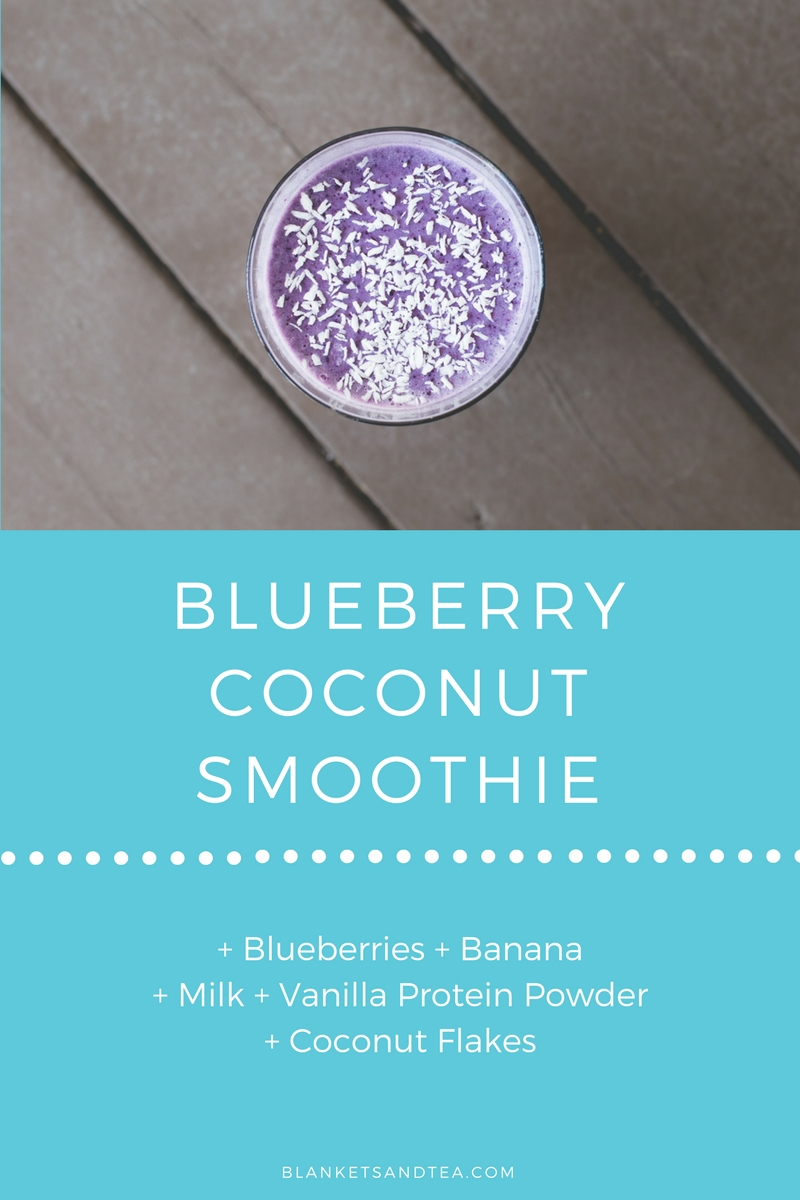 Blueberry Coconut Smoothie