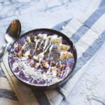 Luxurious Blueberry Coconut Smoothie Bowl